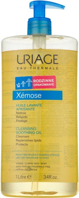 Uriage Xémose zklidňující čisticí olej na obličej a tělo
