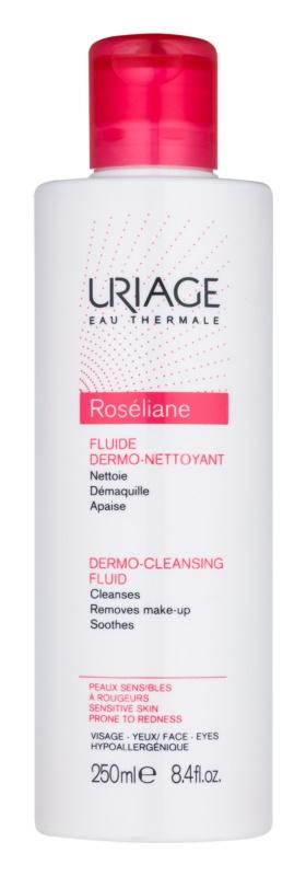 Uriage Roséliane čisticí fluid pro citlivou pleť se sklonem ke zčervenání