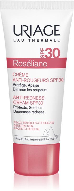 Uriage Roséliane denní krém pro citlivou pleť se sklonem ke zčervenání SPF30