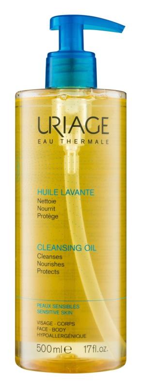 Uriage Hygiène olejek myjący do twarzy i ciała
