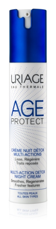 Uriage Age Protect multiaktivní detoxikační krém na noc