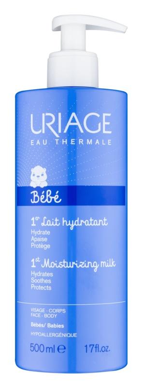 Uriage 1érs Soins Bébés leite hidratante para corpo e rosto para bebés 0+