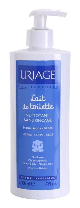 Uriage 1érs Soins Bébés очищаюче молочко для тіла та обличчя