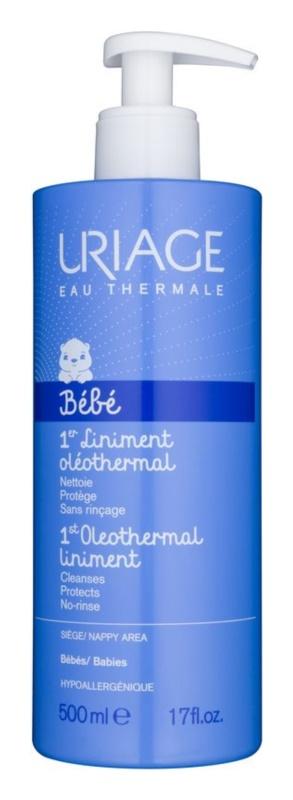 Uriage 1érs Soins Bébés crema de curățare cremoasă pentru copii in  zona scutecelor