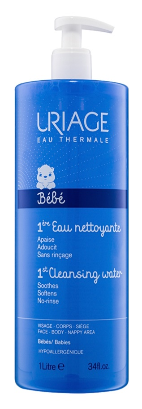 Uriage 1érs Soins Bébés agua limpiadora para cara y cuerpo
