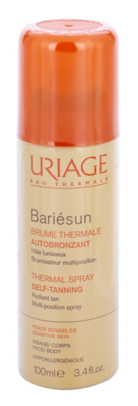 Uriage Bariésun Autobronzant spray autobronzeador para corpo e rosto