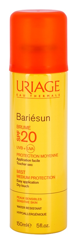Uriage Bariésun ochranná mlha SPF 20