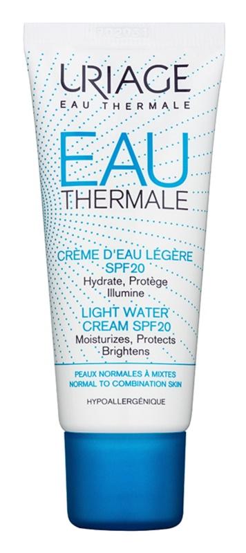 Uriage Eau Thermale lehký hydratační krém SPF 20