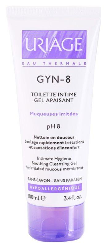 Uriage Gyn- 8 gel pentru igiena intima pentru piele iritata