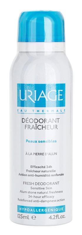 Uriage Hygiène Deodorant Spray With The 24 Hours Protection