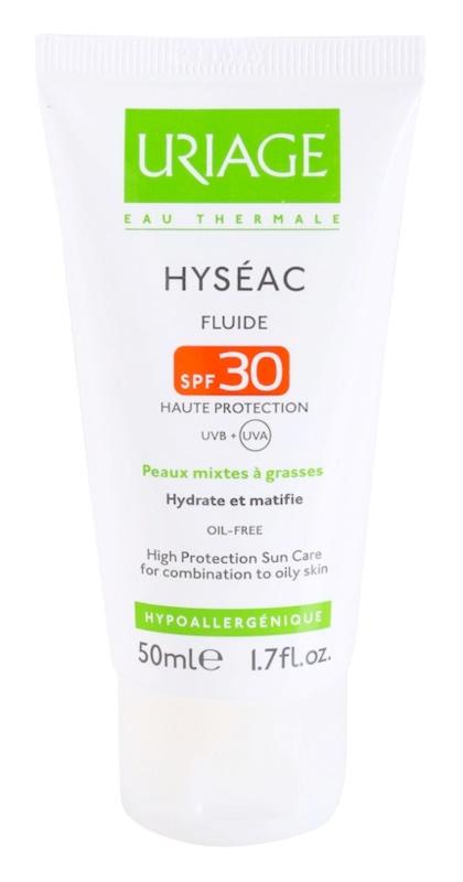 Uriage Hyséac mattierendes Fluid mit feuchtigkeitsspendender Wirkung SPF30