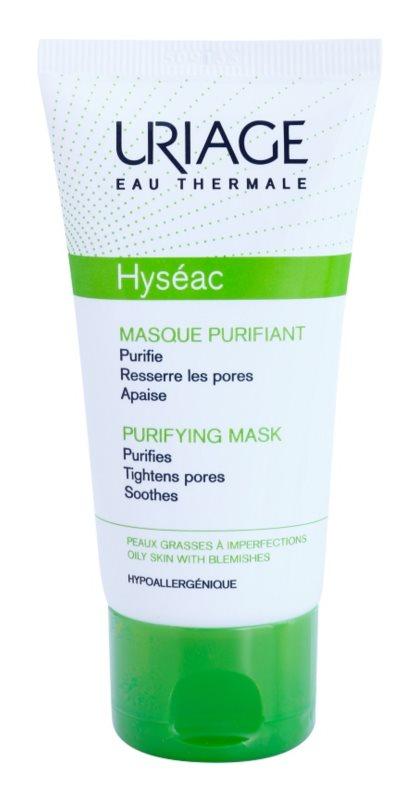 Uriage Hyséac čisticí a zklidňující pleťová maska pro stažení pórů