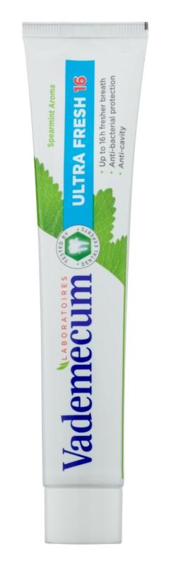 Vademecum Ultra Fresh 16 zubná pasta pre svieži dych