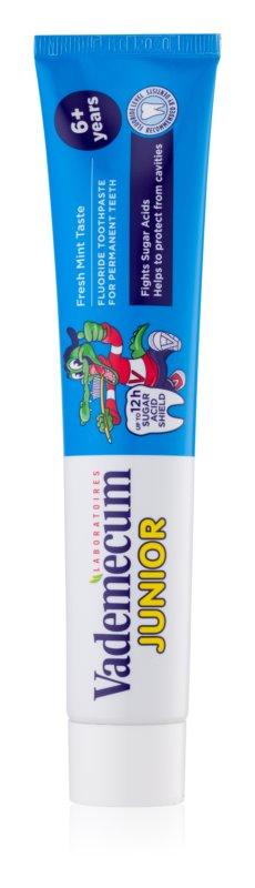 Vademecum Junior zubná pasta pre deti s mätovou príchuťou