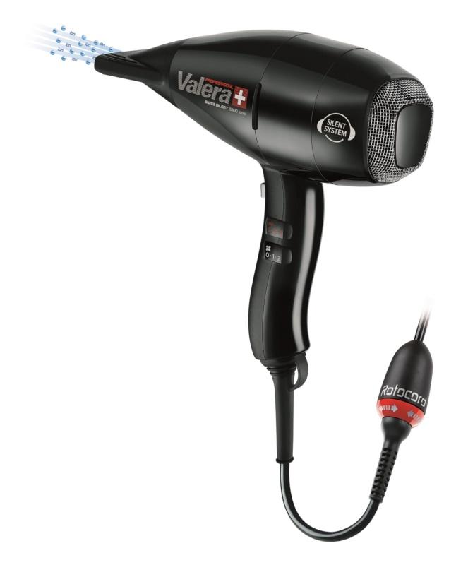 Valera Swiss Silent 6500 Light Ionic Rotocord profesionální fén na vlasy s ionizační funkcí pro ochranu barvy