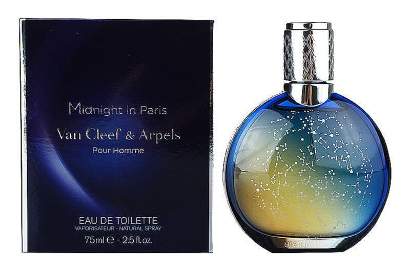 Van Cleef & Arpels Midnight In Paris eau de toilette pour homme 75 ml