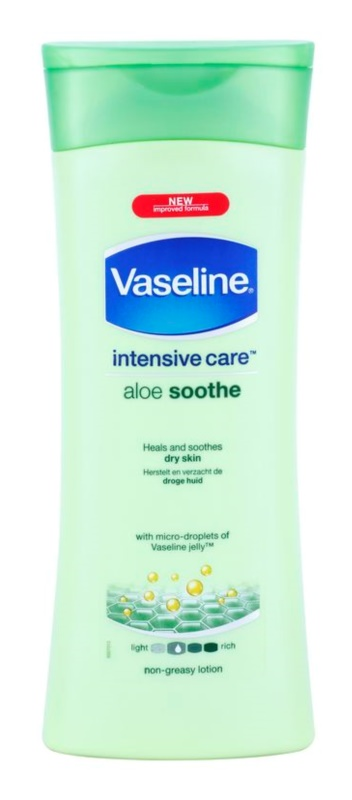 Vaseline Aloe Soothe lotiune hidratanta cu aloe vera