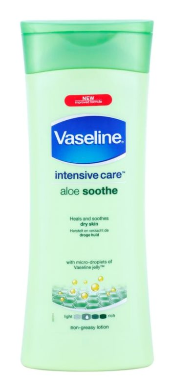 Vaseline Aloe Soothe Moisturizing Body Lotion With Aloe Vera