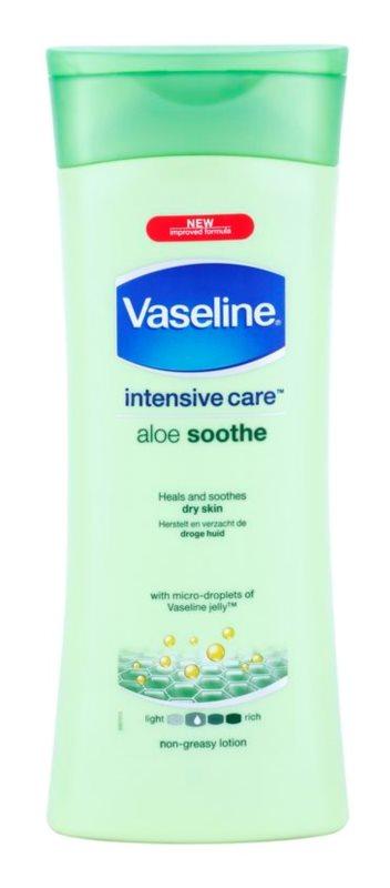 Vaseline Aloe Soothe nawilżające mleczko do ciała z aloesem