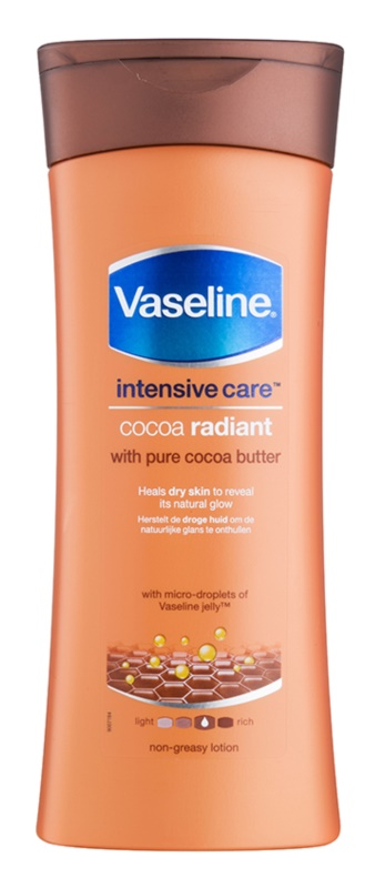 Vaseline Cocoa Radiant Moisturizing Body Lotion with Cocoa Butter