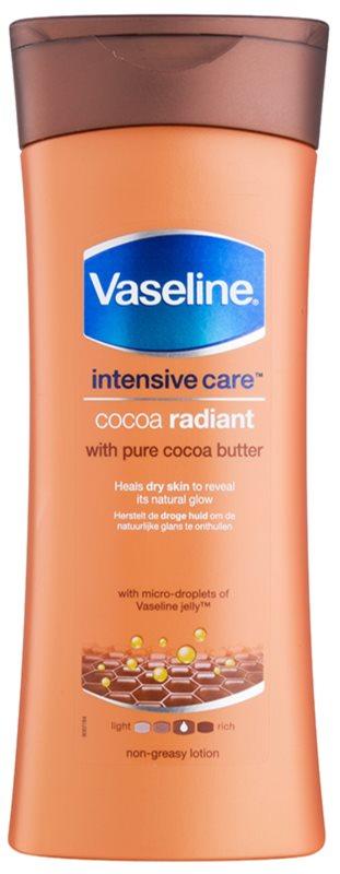 Vaseline Cocoa Radiant tělové hydratační mléko s kakaovým máslem