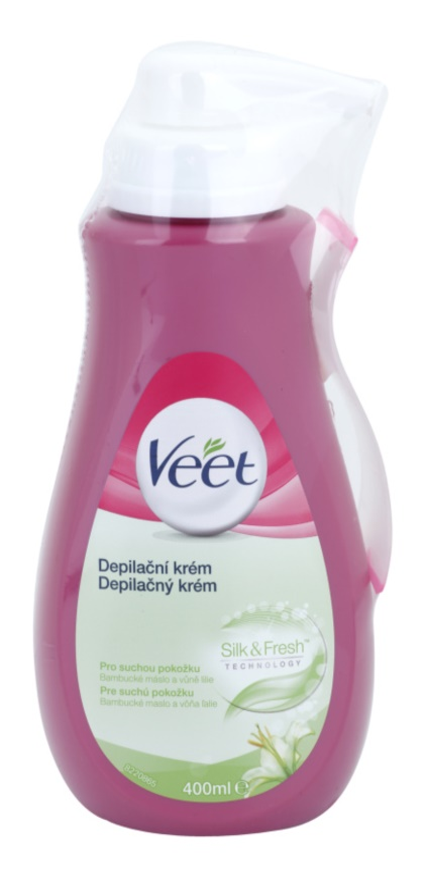 Veet Depilatory Cream vlažilna depilacijska krema za suho kožo