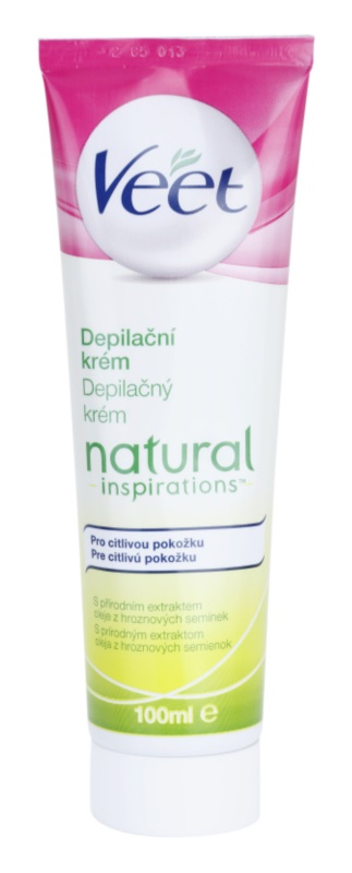 Veet Natural Inspirations Hair Removal Cream For Sensitive Skin