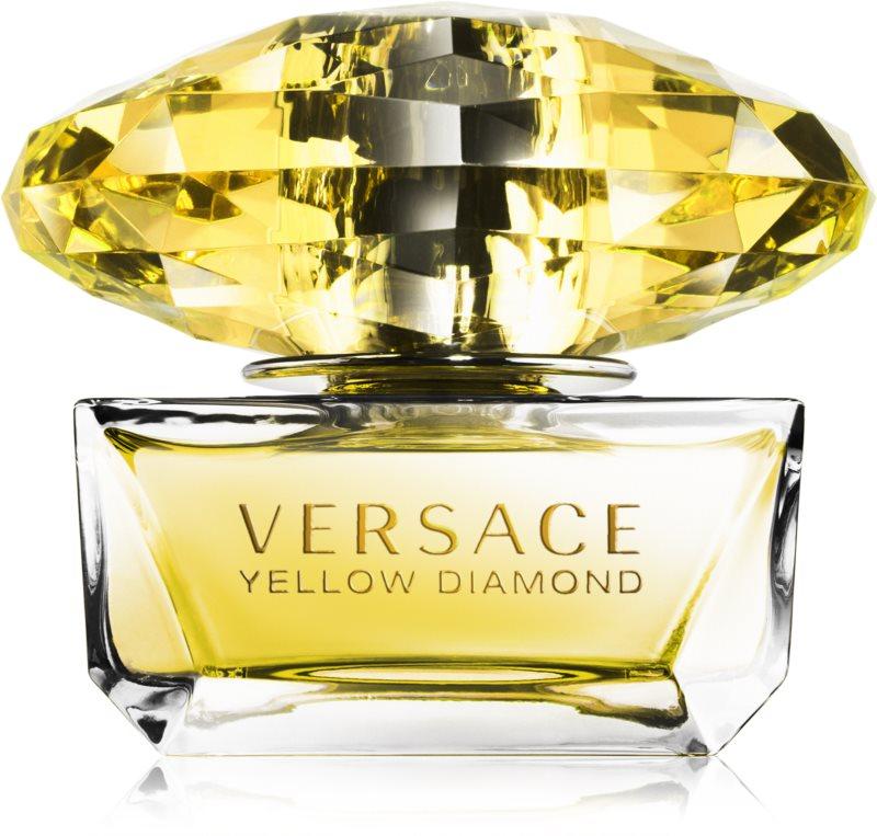 Versace Yellow Diamond déodorant avec vaporisateur pour femme 50 ml