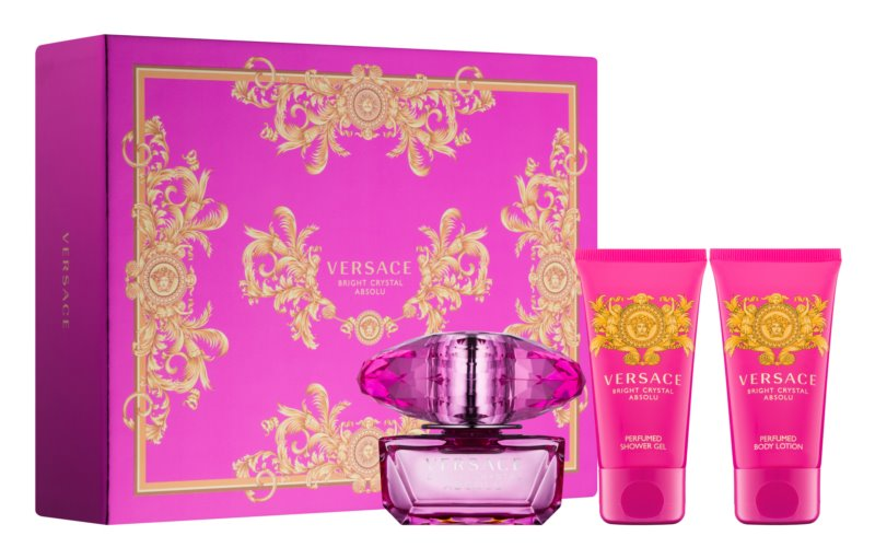 Versace Bright Crystal Absolu set cadou X.