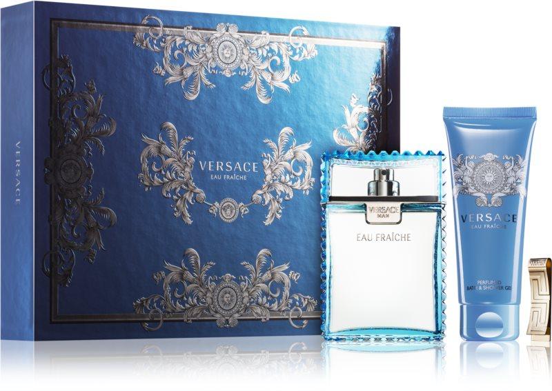 Versace Man Eau Fraîche lote de regalo XXV.