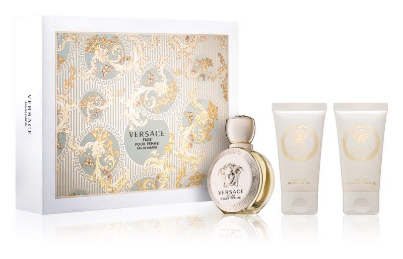 Versace Eros Pour Femme lote de regalo I.