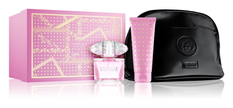 Versace Bright Crystal Gift Set X.