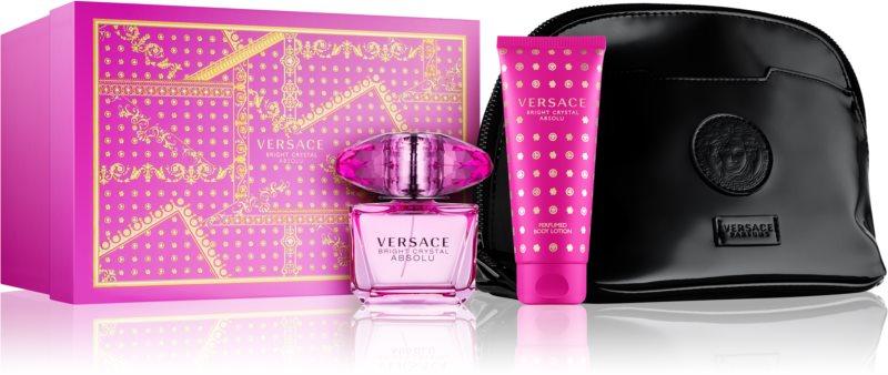 Versace Bright Crystal Absolu coffret XIII.