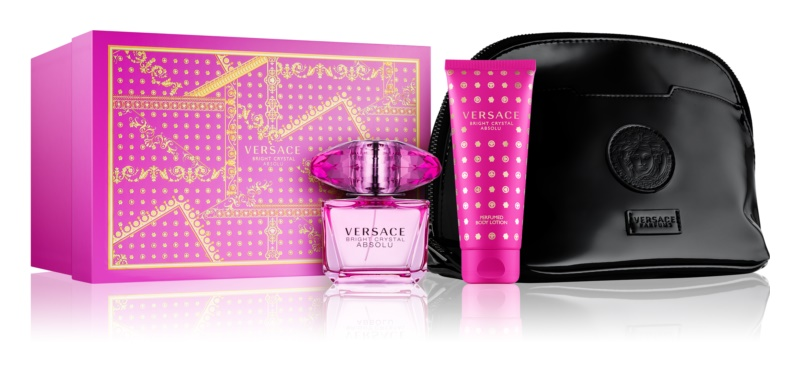 Versace Bright Crystal Absolu Gift Set  XIII.
