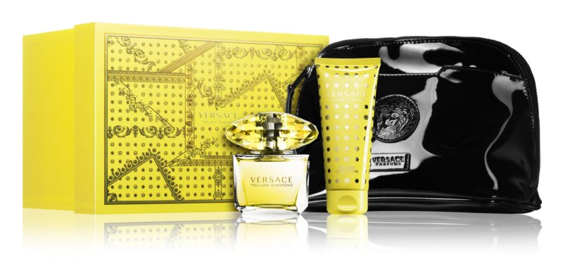 Versace Yellow Diamond confezione regalo X