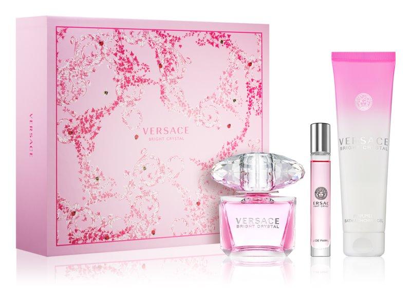 Versace Bright Crystal lote de regalo IV.