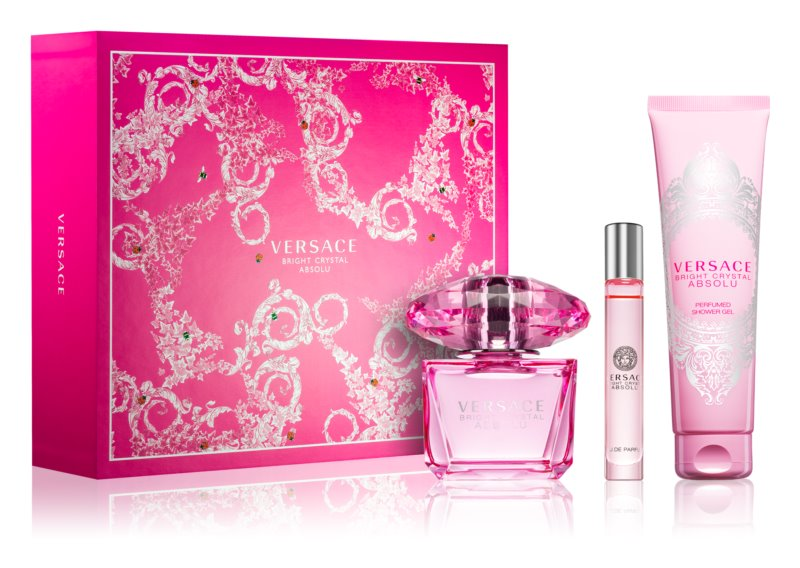 Versace Bright Crystal Absolu darčeková sada II.