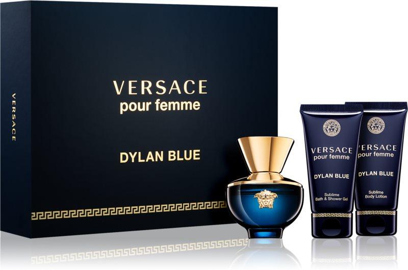Versace Dylan Blue Pour Femme Gift Set I.
