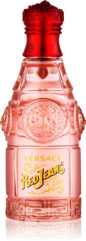Versace Jeans Red Eau de Toilette Damen 75 ml