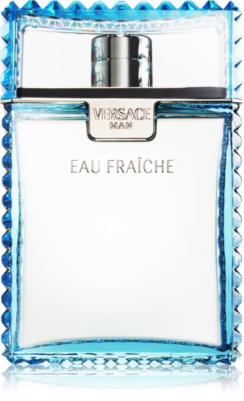 Versace Man Eau Fraîche After Shave Lotion for Men 100 ml
