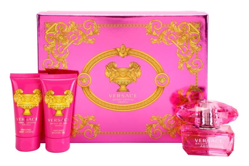 Versace Bright Crystal Absolu ajándékszett VII.