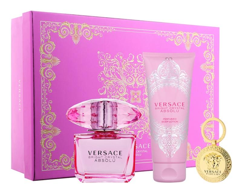 Versace Bright Crystal Absolu set cadou XII.