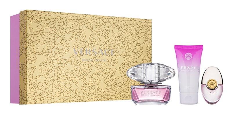Versace Bright Crystal confezione regalo XVIII