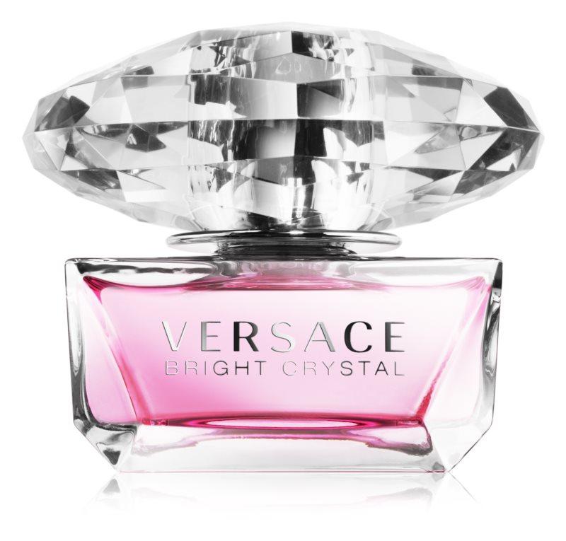 Versace Bright Crystal desodorante con pulverizador para mujer 50 ml
