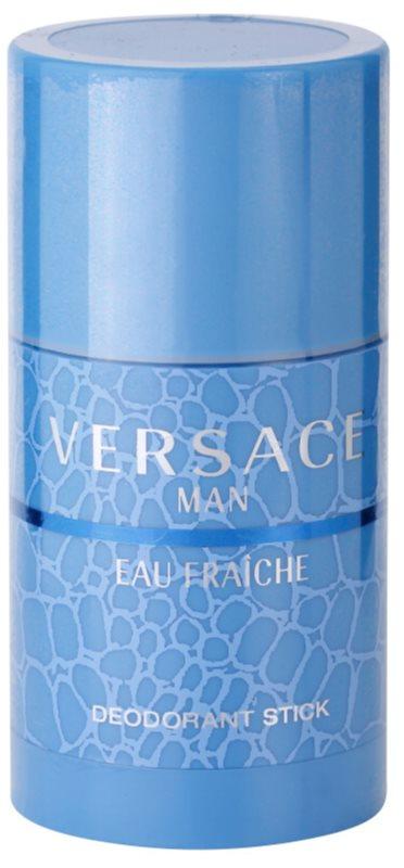 Versace Man Eau Fraîche desodorante en barra para hombre 75 ml (sin caja)