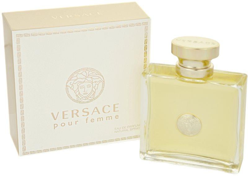 Versace Pour Femme Eau de Parfum voor Vrouwen  100 ml