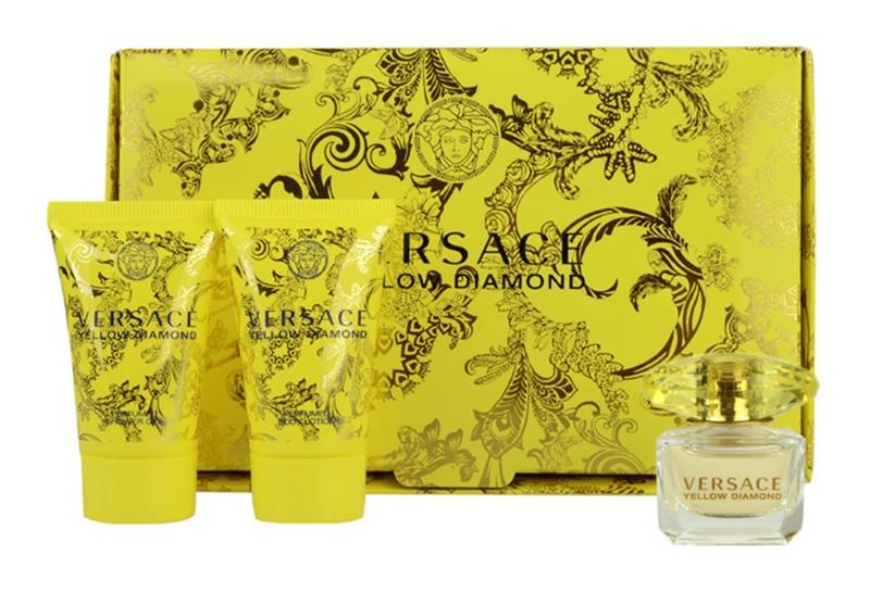 Versace Yellow Diamond set cadou V.