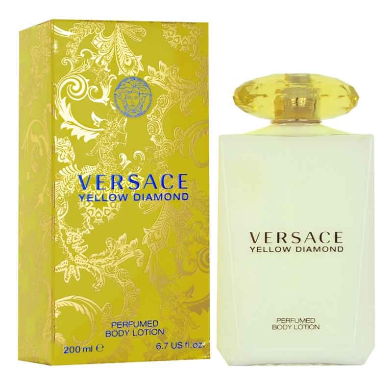 Versace Yellow Diamond latte corpo per donna 200 ml