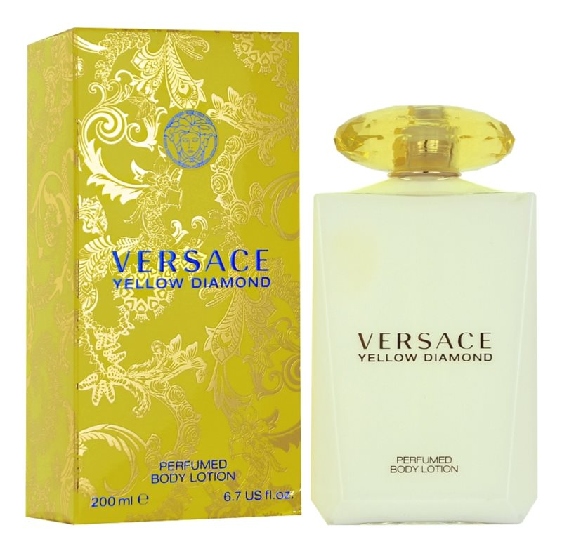 Versace Yellow Diamond leche corporal para mujer 200 ml