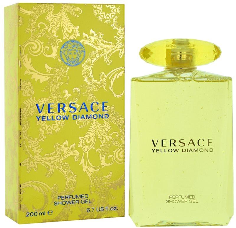 Versace Yellow Diamond Duschgel für Damen 200 ml